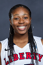 Simone Brown, Women's Basketball. Photo courtesy liberty.edu