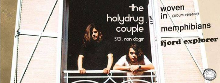 A grounded night out with The Holydrug Couple: Or why not all psych rock really rocks