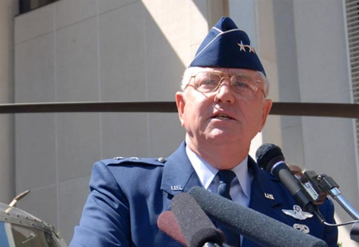 Retired Florida National Guard Maj. Gen. Douglas Burnett <i><br>Photo by Master Sgt. Thomas Kielbasa, courtesy Florida Guard Online</i>