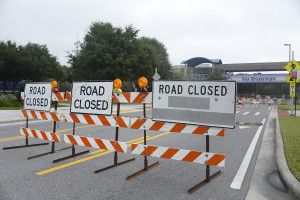 Road Detours around campus this weekend