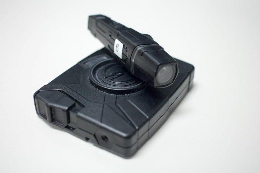 The Taser Axon Flex body camera Photo by Michael Herrera