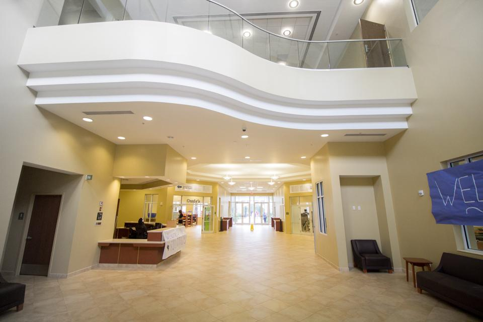 The gender inclusive housing, at the Osprey Fountains, provides a safe and welcoming home for UNF students.  <i>Photo by Garrett Milanovich</i>