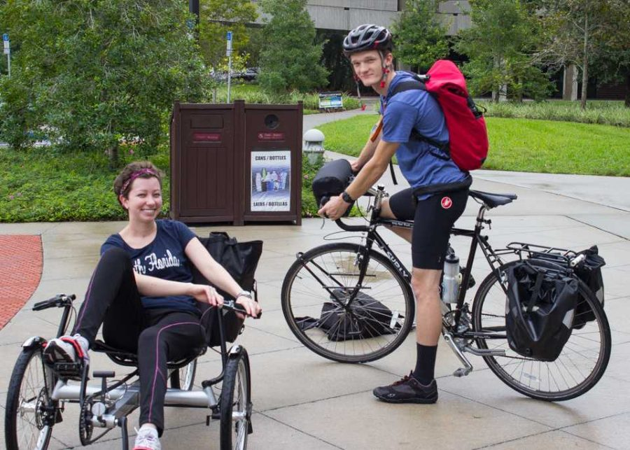 Student cyclists ride out with food delivery business