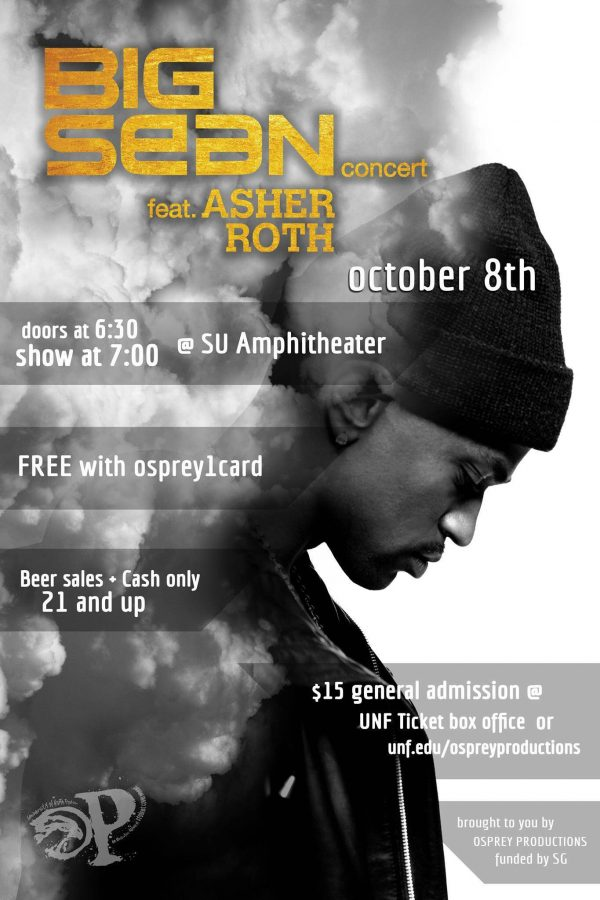 Big Sean to perform at UNF in October with Asher Roth opening