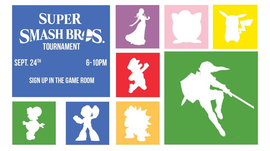 The Game Room hosts numerous gaming tournaments throughout the year, from Mario Kart to Halo 5, coming in November.  Photo courtesy of Facebook.