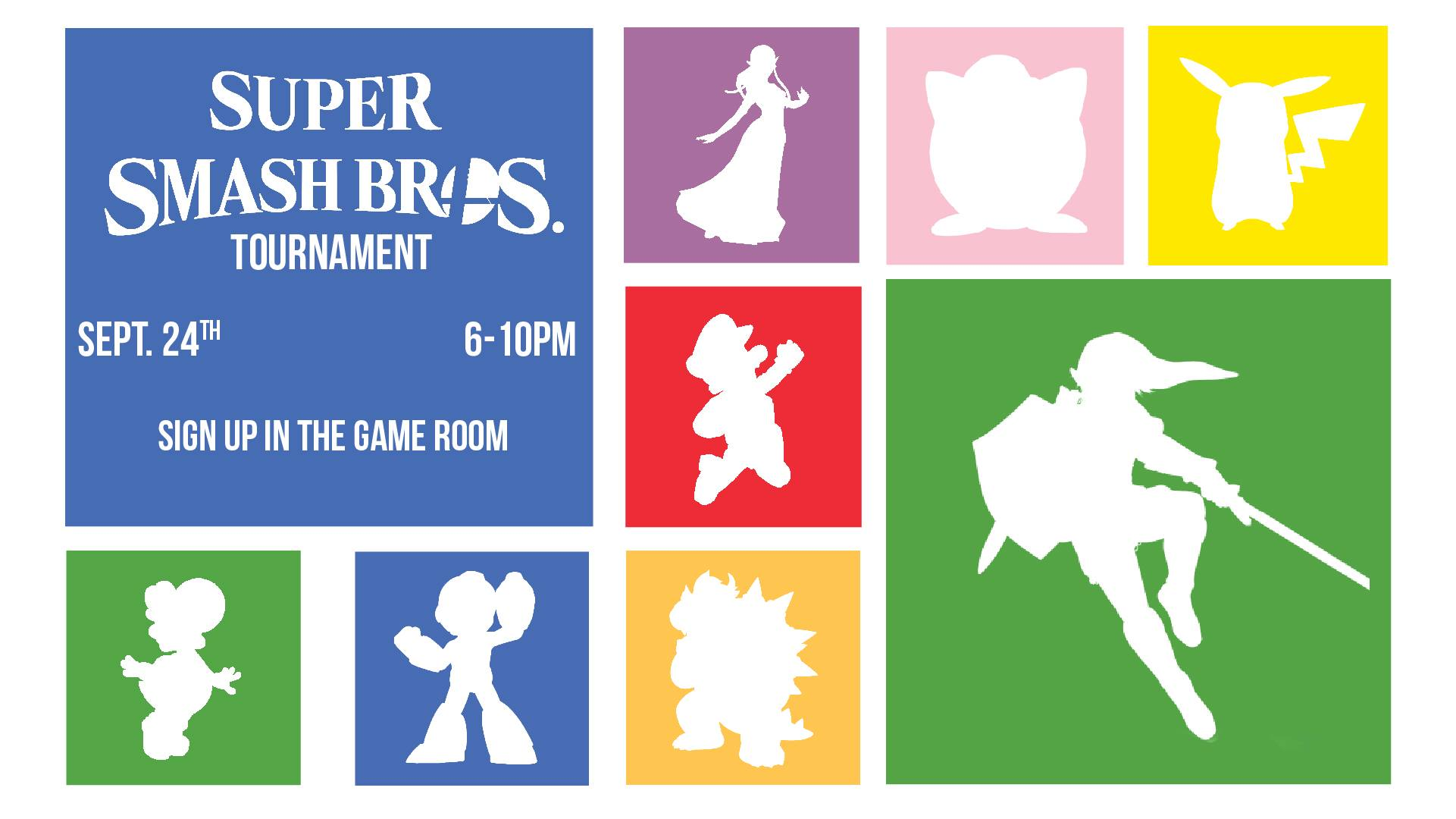Student Union game room hosts Super Smash Bros. 4 tournament