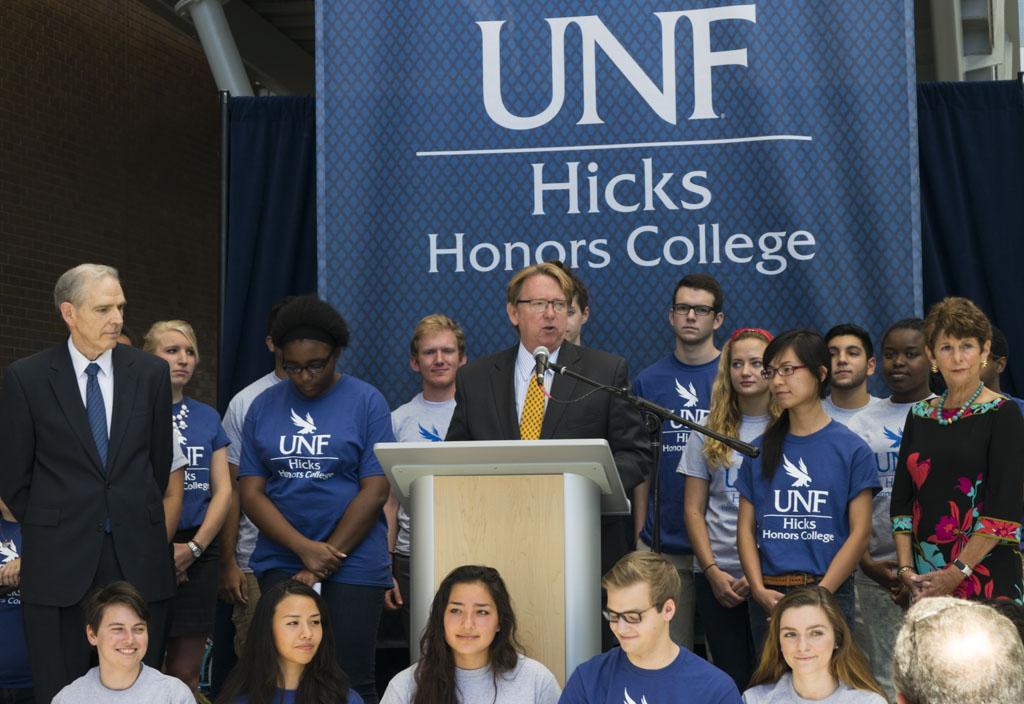 UNF to institute Honors College