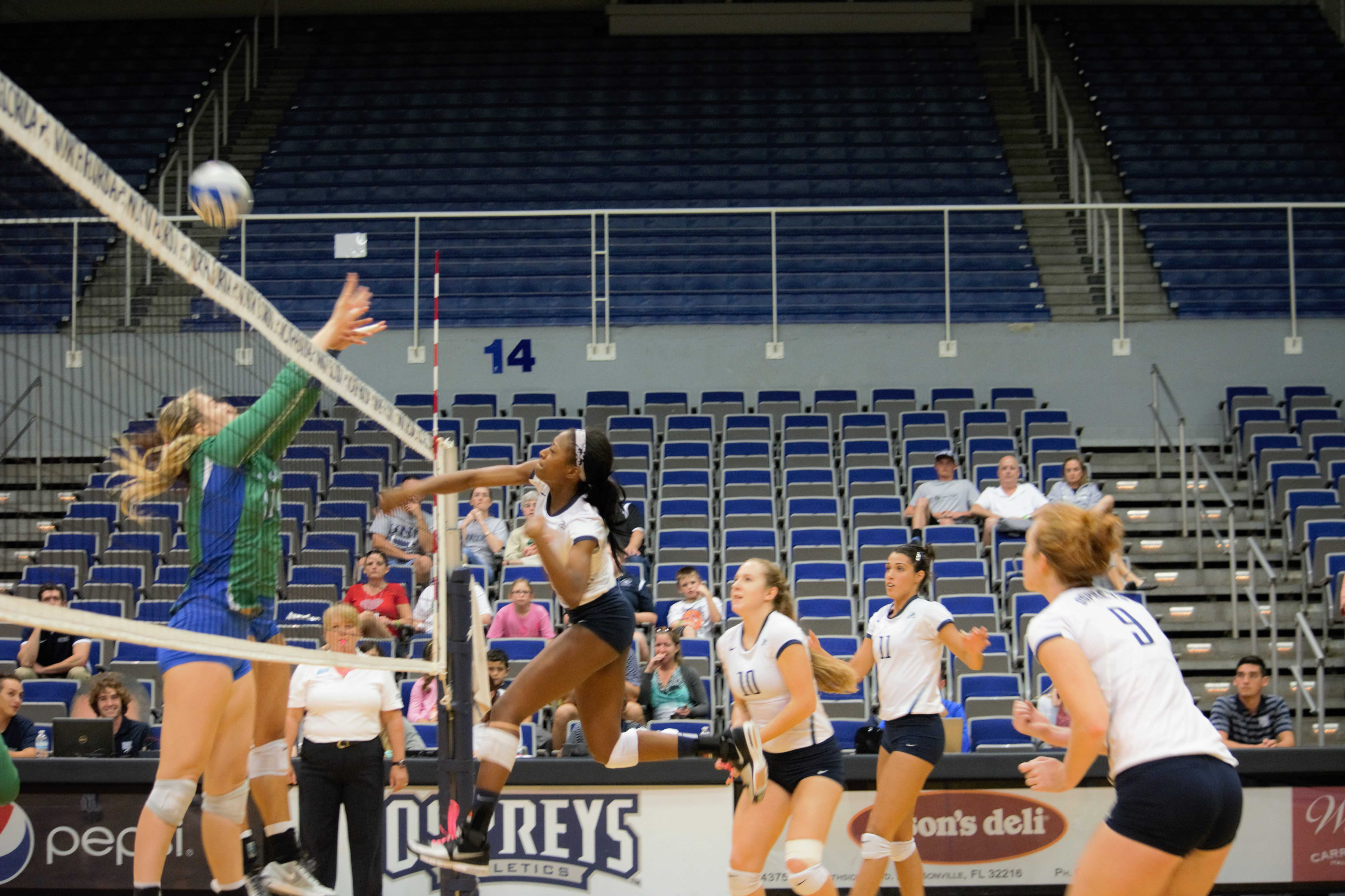 UNF volleyball falls to FGCU in Atlantic Sun showdown