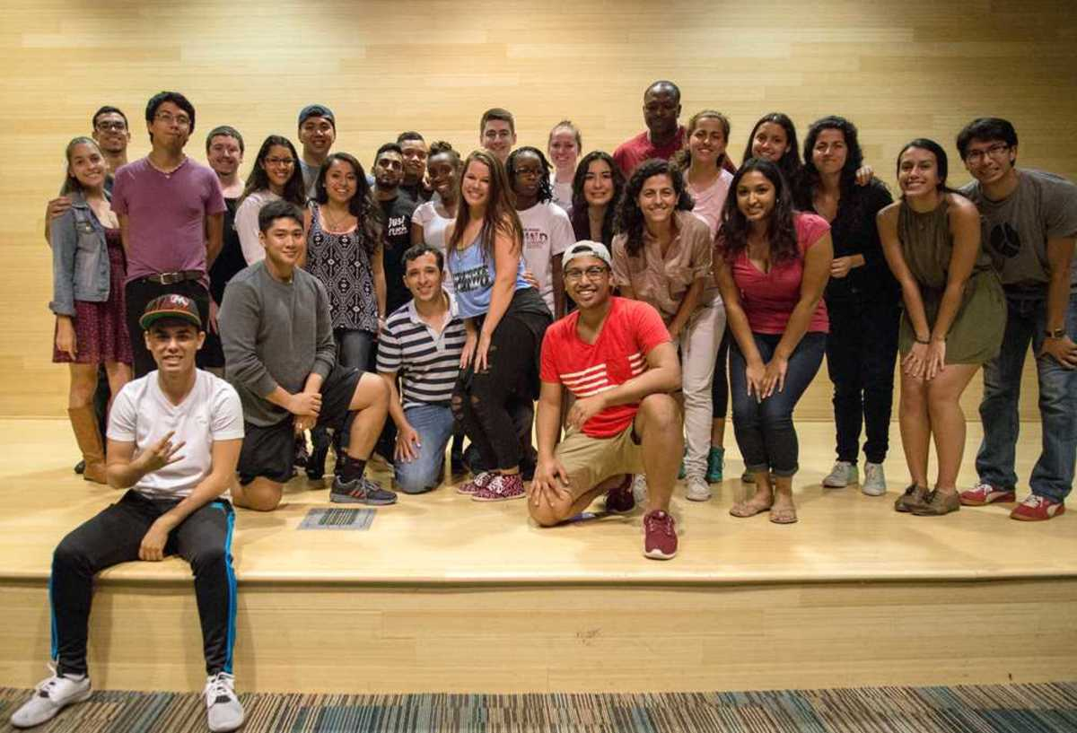 Latin American Student Organization and Sigma Beta Rho exemplify UNF's diversity at So You Know You Can't Dance