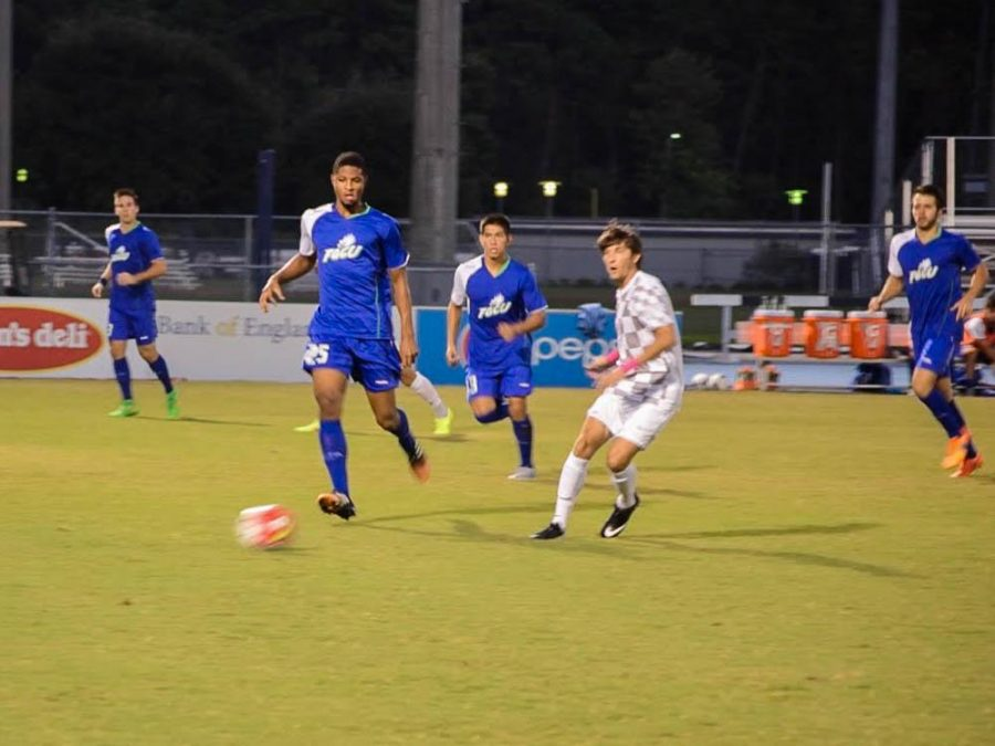 UNF is 5-5-1 overall this season and 1-0-1 in the A-Sun.  Photo by Joslyn Simmons