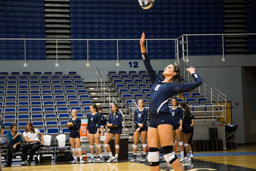 Volleyball falls to Stetson Hatters over the weekend