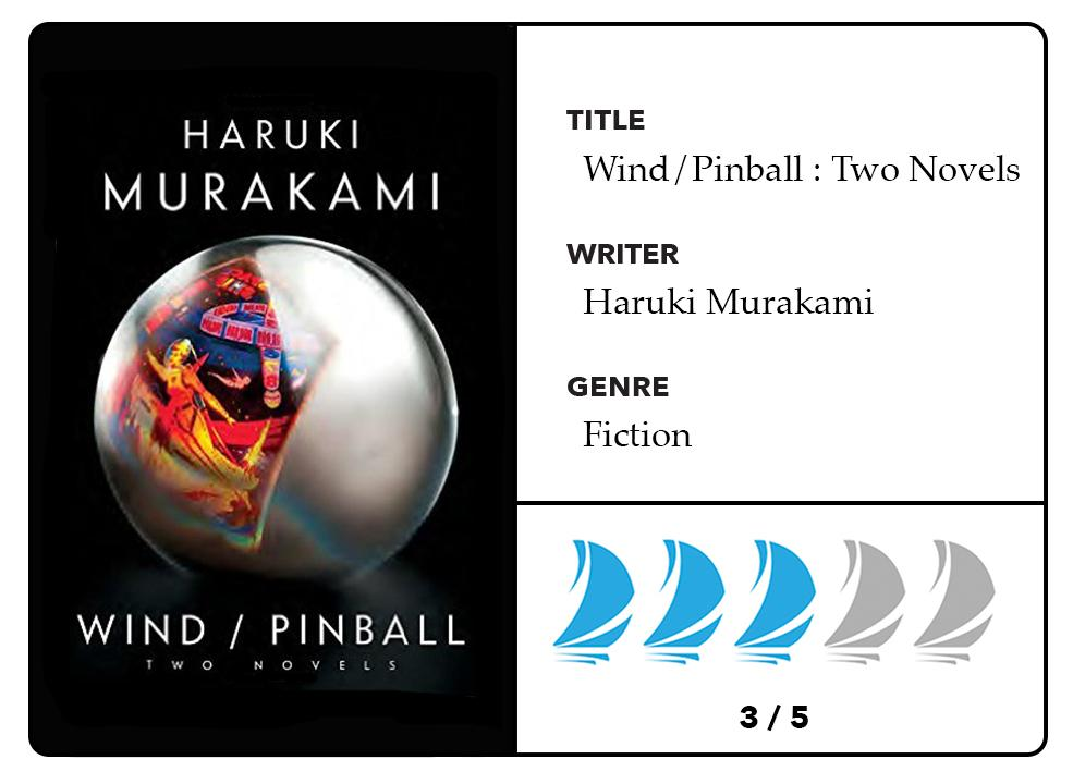 Book review: Murakami has nothing to be embarrassed about in Wind/Pinball