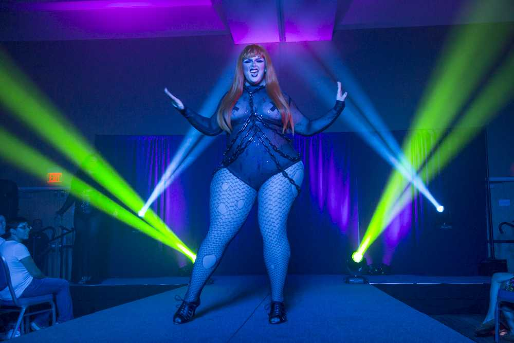 Annual drag show blends spectacle with LGBT progress