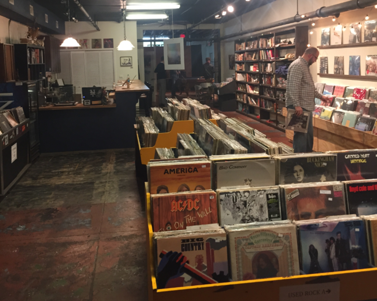 local music shops gear up for record store day black friday unf spinnaker. Black Bedroom Furniture Sets. Home Design Ideas