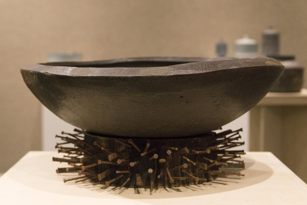 """Gathering Bowl"" is the work Abram says is his personal favorite. Photo by Rachel Cazares"
