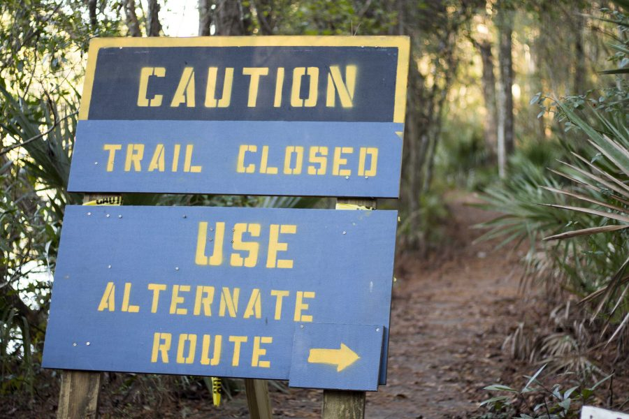 The nature trails were severely damaged by hurricane activity in 2016.   Michael Herrera