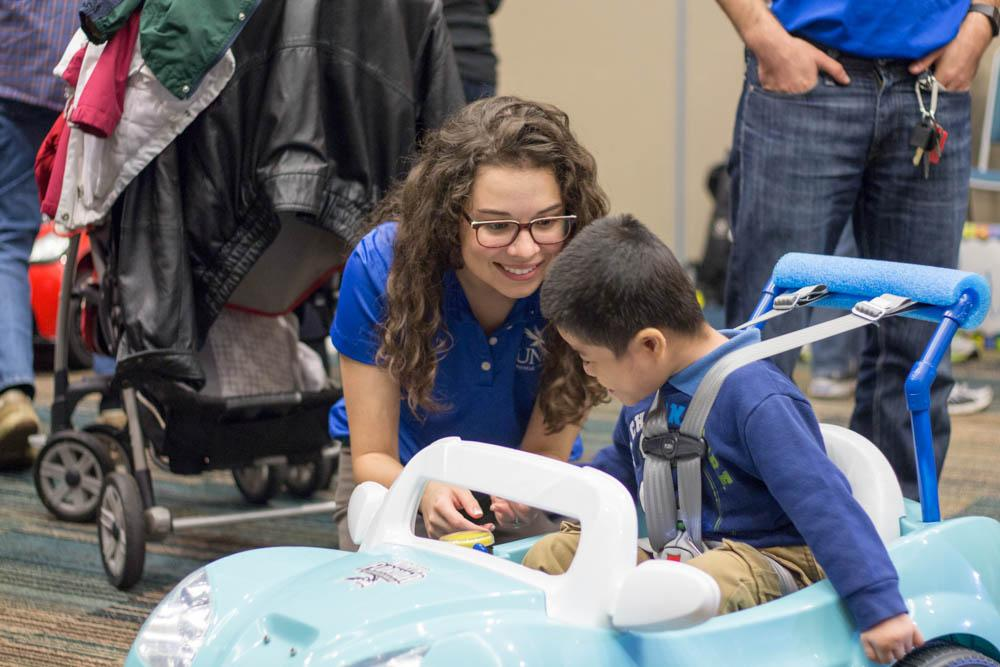 Engineering students develop hi-tech toy cars for kids with disabilities