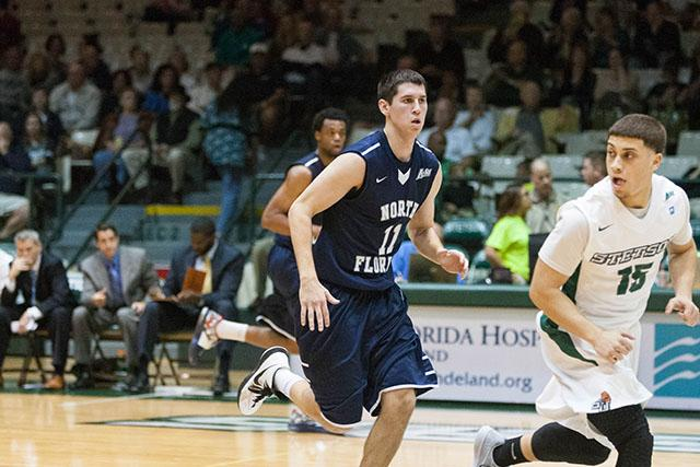 Ospreys open conference play with a 97-79 victory over Stetson