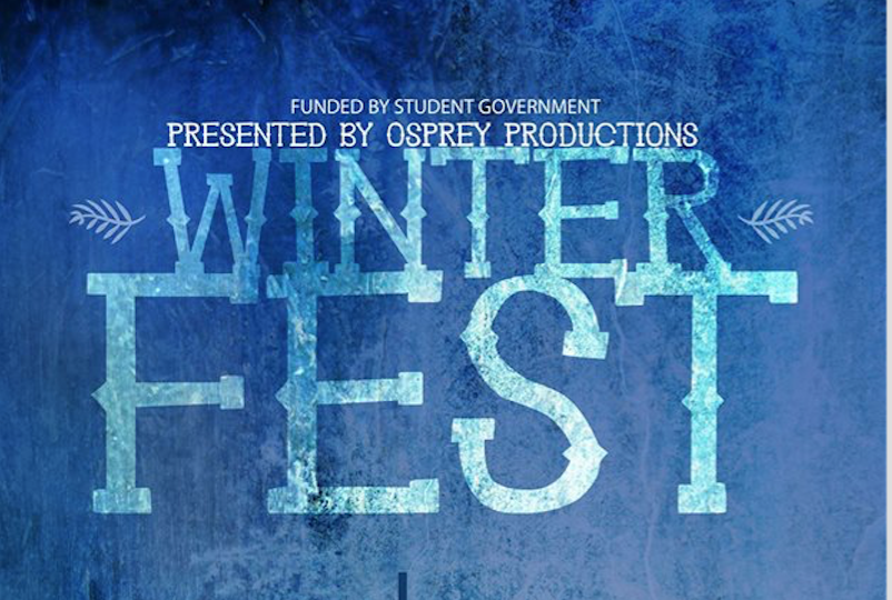Osprey Productions welcomes students back with annual Winter Fest
