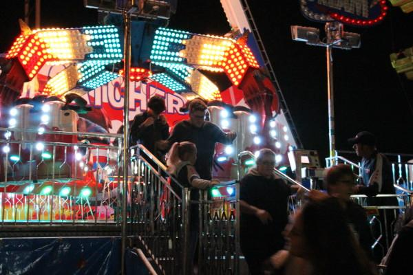 The Avengers-themed ride was surprisingly fast and quite fun. Photo by Brittany Moore.