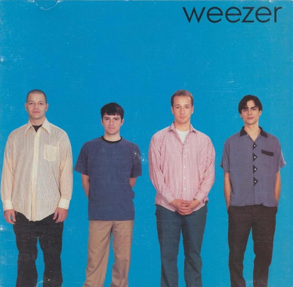 Weezer circa 1994. Photo courtesy Creative Commons.