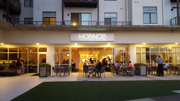 A brand new Riverside gem, HOBNOB, opened up in Unity Plaza about two weeks ago. Photo by Courtney Stringfellow.