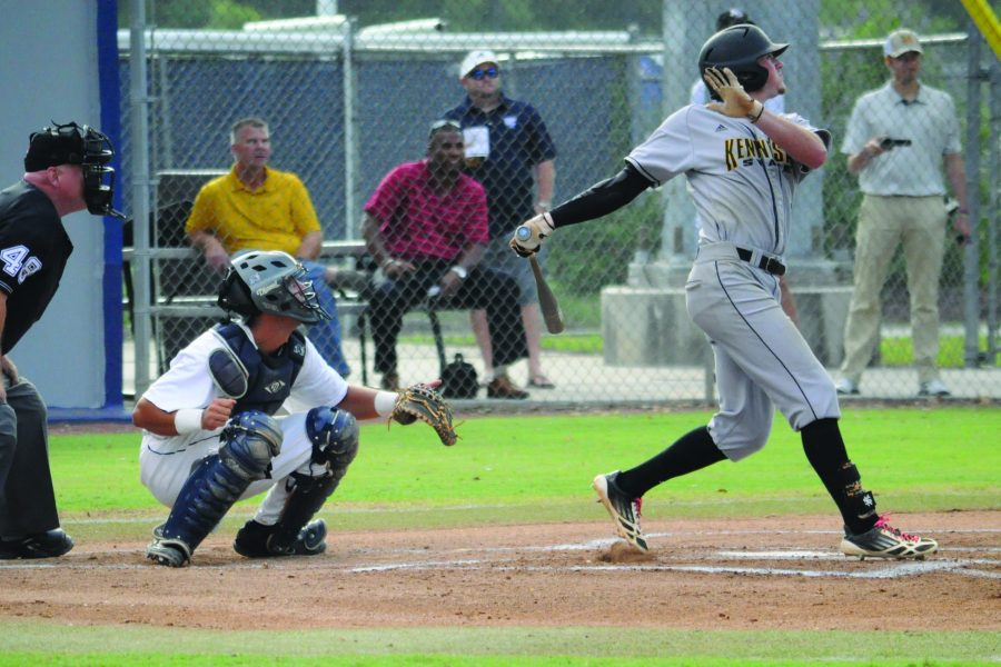 The Ospreys dropped two of three games in their A-Sun opener against Kennesaw.  Photo by Morgan Purvis