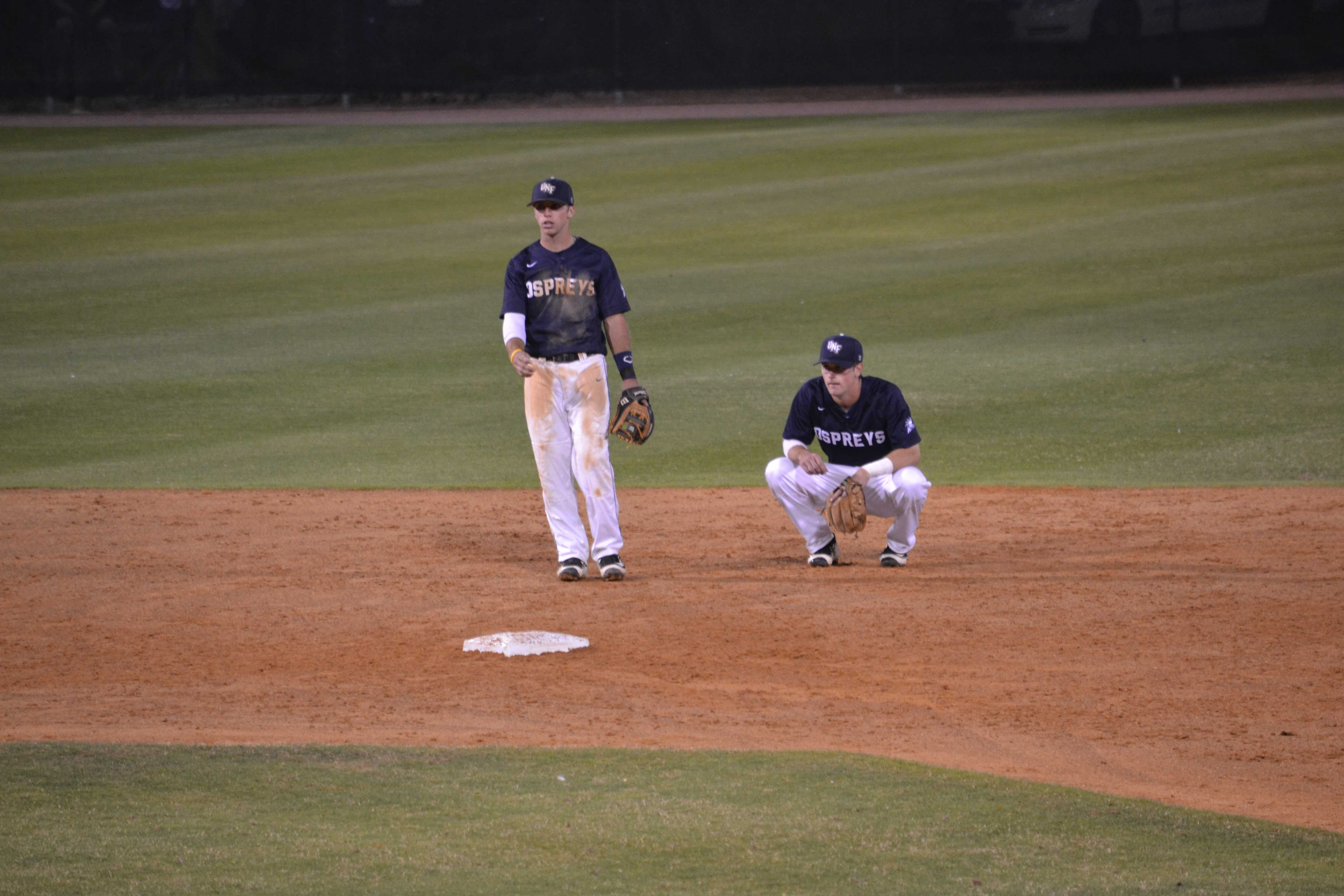 The Osprey defense gave up zero errors Tuesday against UCF. Photo by Emily Woodbury