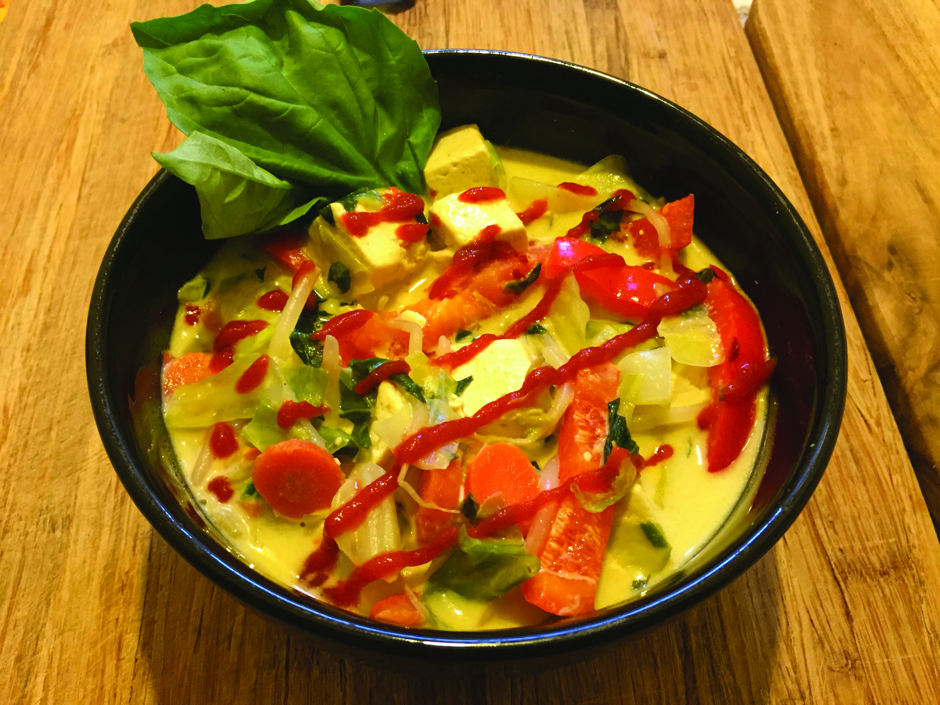 Thai green curry. Photo by Mark Judson