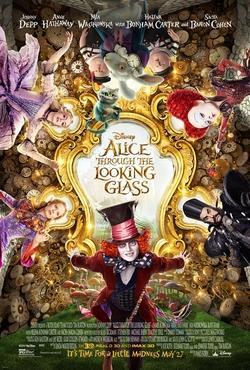 Fall into a darker world of Underland as the eccentric cast returns with Alice to take on her new adventure when she steps through the looking glass - in theaters May 27, 2016. The movie contains a few ups and downs that might drive you mad. Photo courtesy of  IMDb.