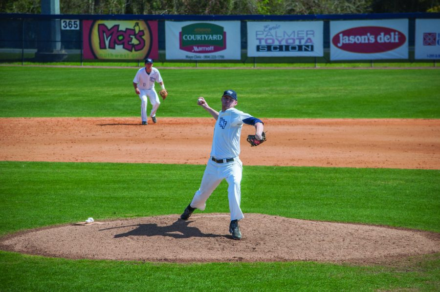 Senior Brian Baker was selected in the 11th round by the Colorado Rockies. Photo by Morgan Purvis