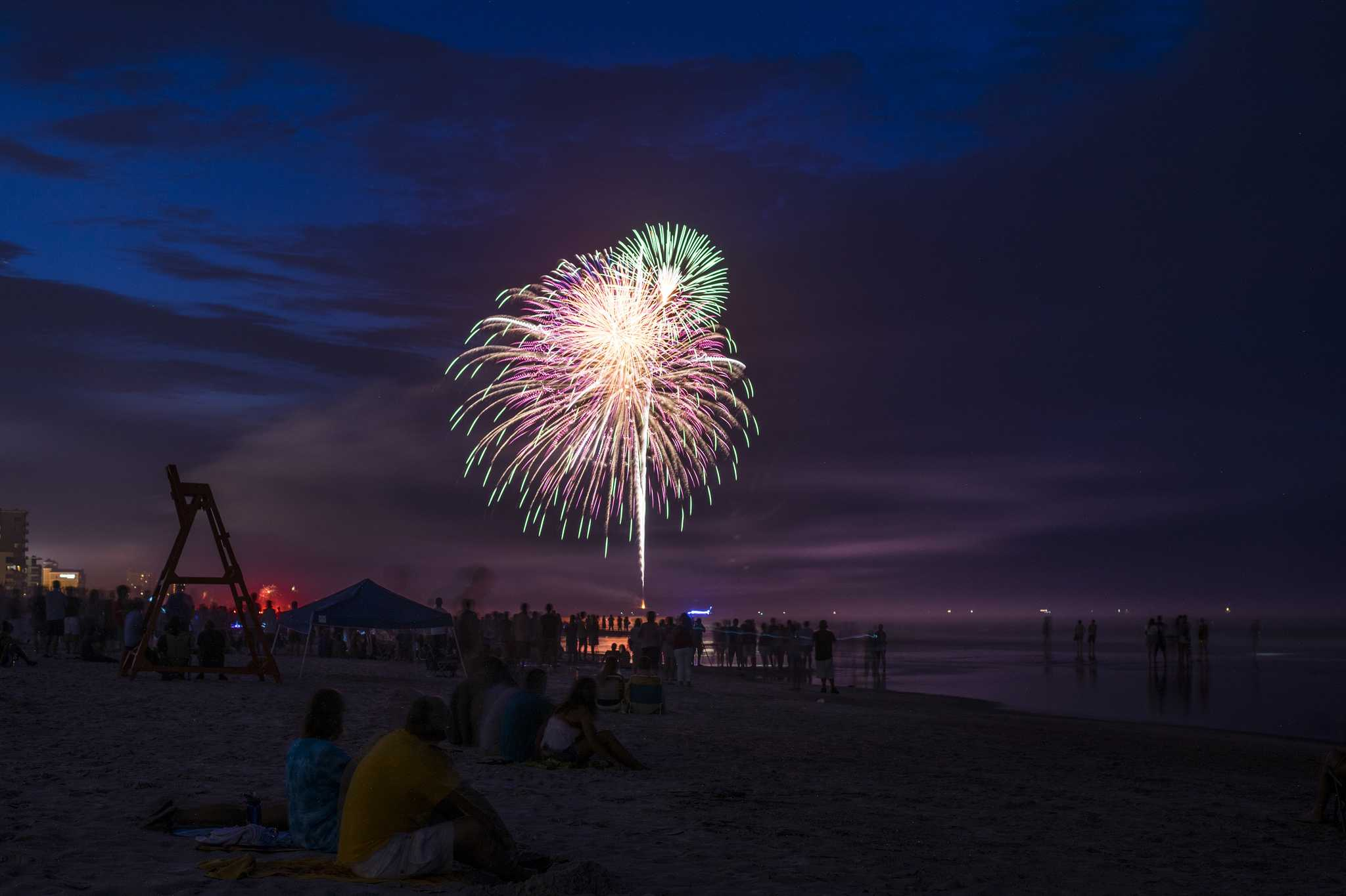Where to see fireworks on the Fourth of July