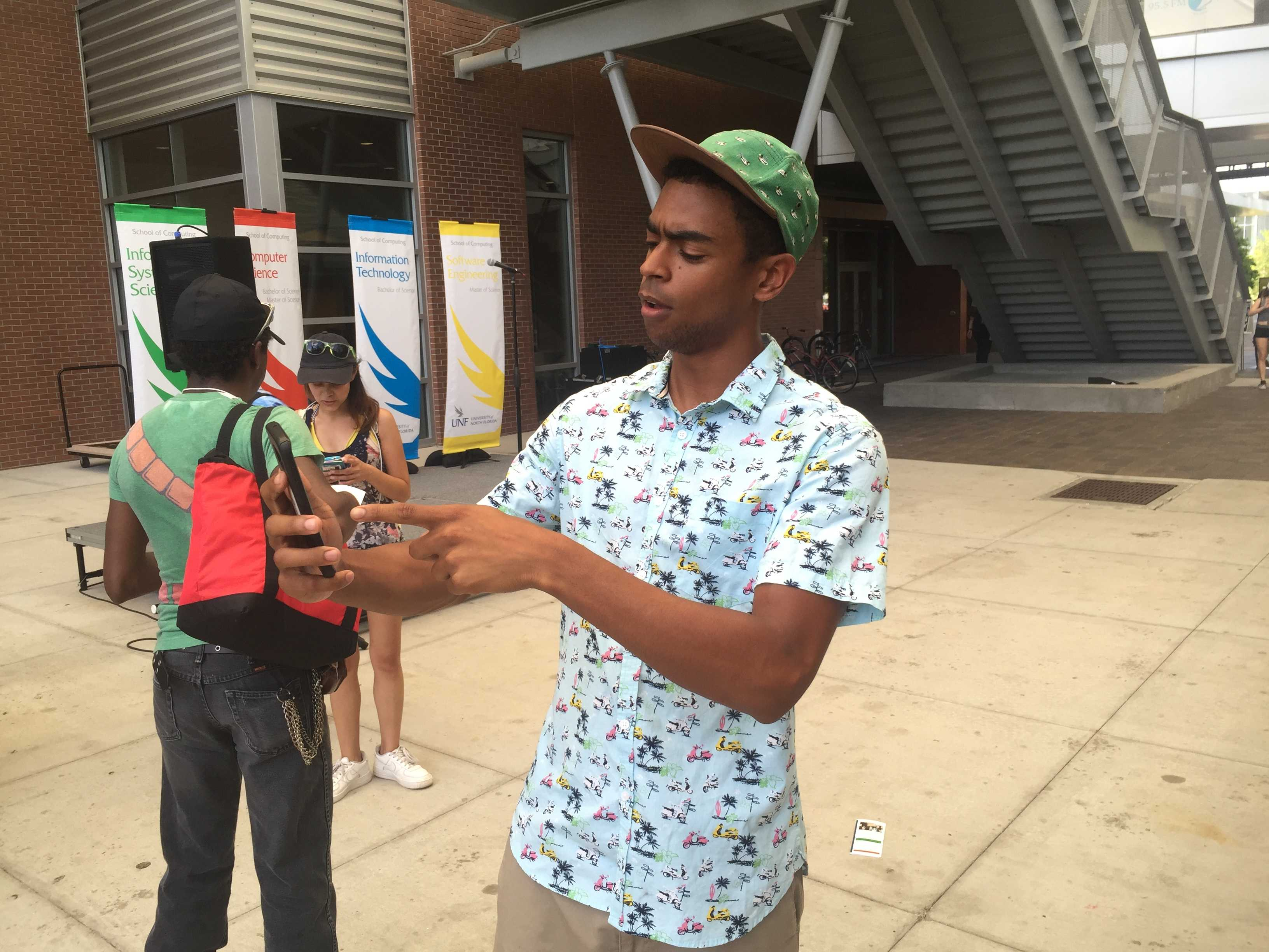 Thousands flock to campus to catch Pokemon