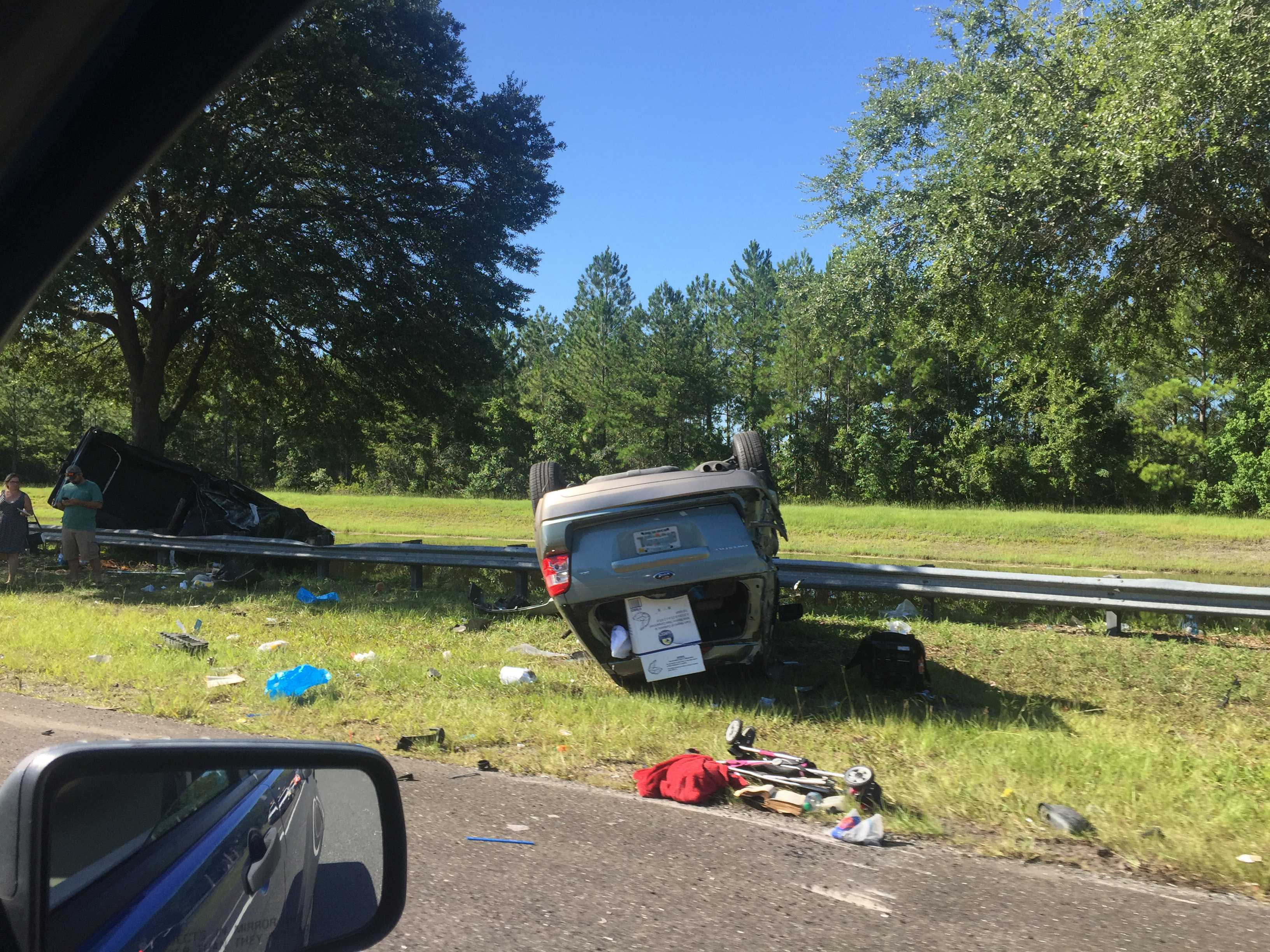 The accident at JTB has reported injuries, according to JTB. Photo by Tiffany Salameh