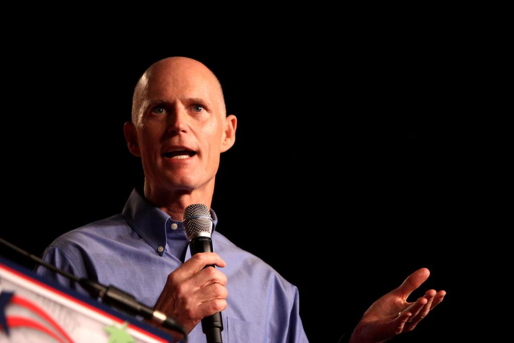 Florida Gov. Rick Scott signs gun control bill