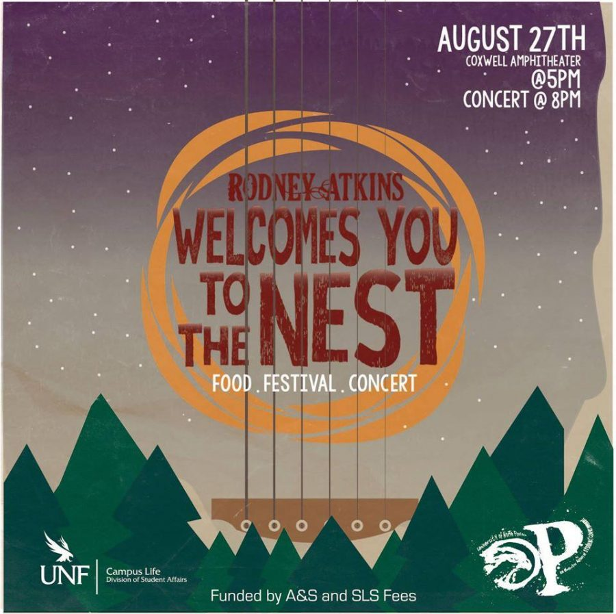 Rodney Atkins to headline Welcome to the Nest Festival