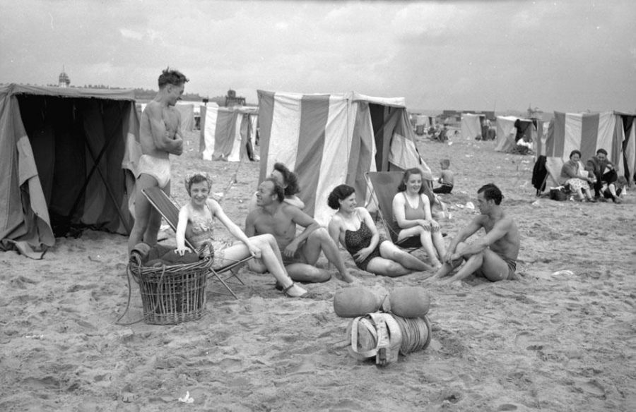 A group of friends enjoy their time on the beach in the 1950s. You could do that to, or you could spend your time doing something else from our list. Photo courtesy Tyne & Wear Archives & Museums.
