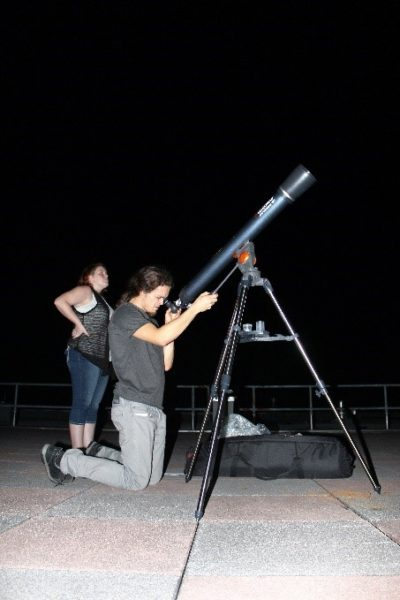 A night under the stars with the Physics Department