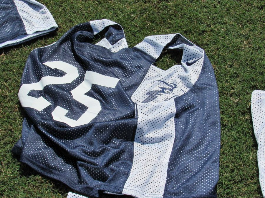 A lacrosse jersey. Photo by Joslyn Simmons