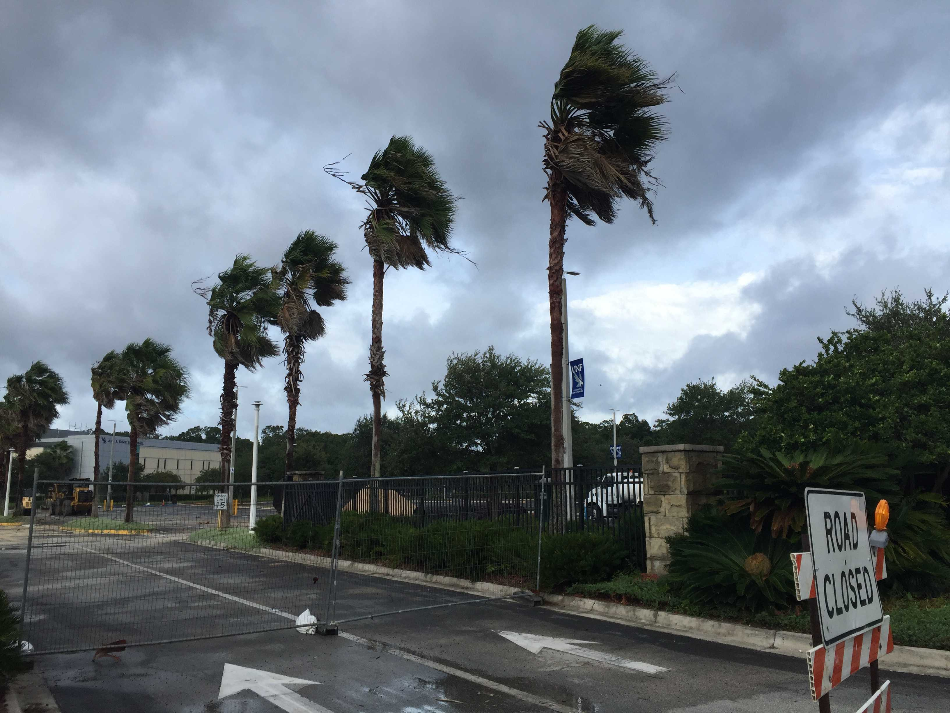 Irma brings increased risk of tornadoes and wind damage for Jacksonville, Shelters open