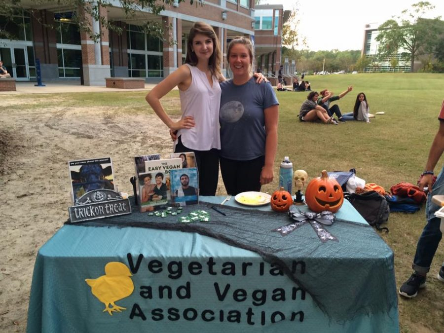 UNF Vegetarian and Vegan Association getting the word out there