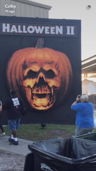 Halloween II haunted house. Courtesy of