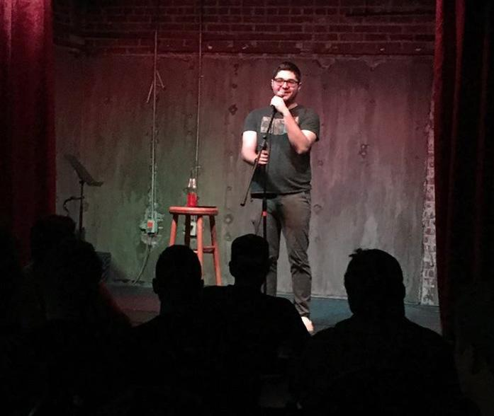 Mitchell Gropman does stand-up comedy when he isn't working or studying. <i>Photo courtesy of Mitchell Gropman.</i>