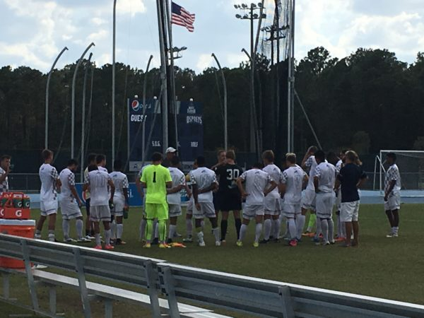 Men's soccer. Photo by Ronnetha Rodgers