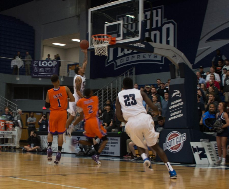 Dallas Moore, Ospreys incinerate Edward Waters 109-73