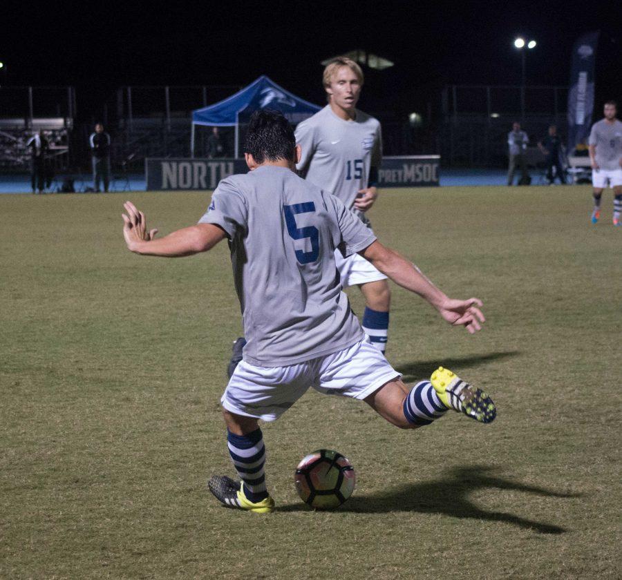 Men's soccer. <I>Photo by Lili Weinstein</I>