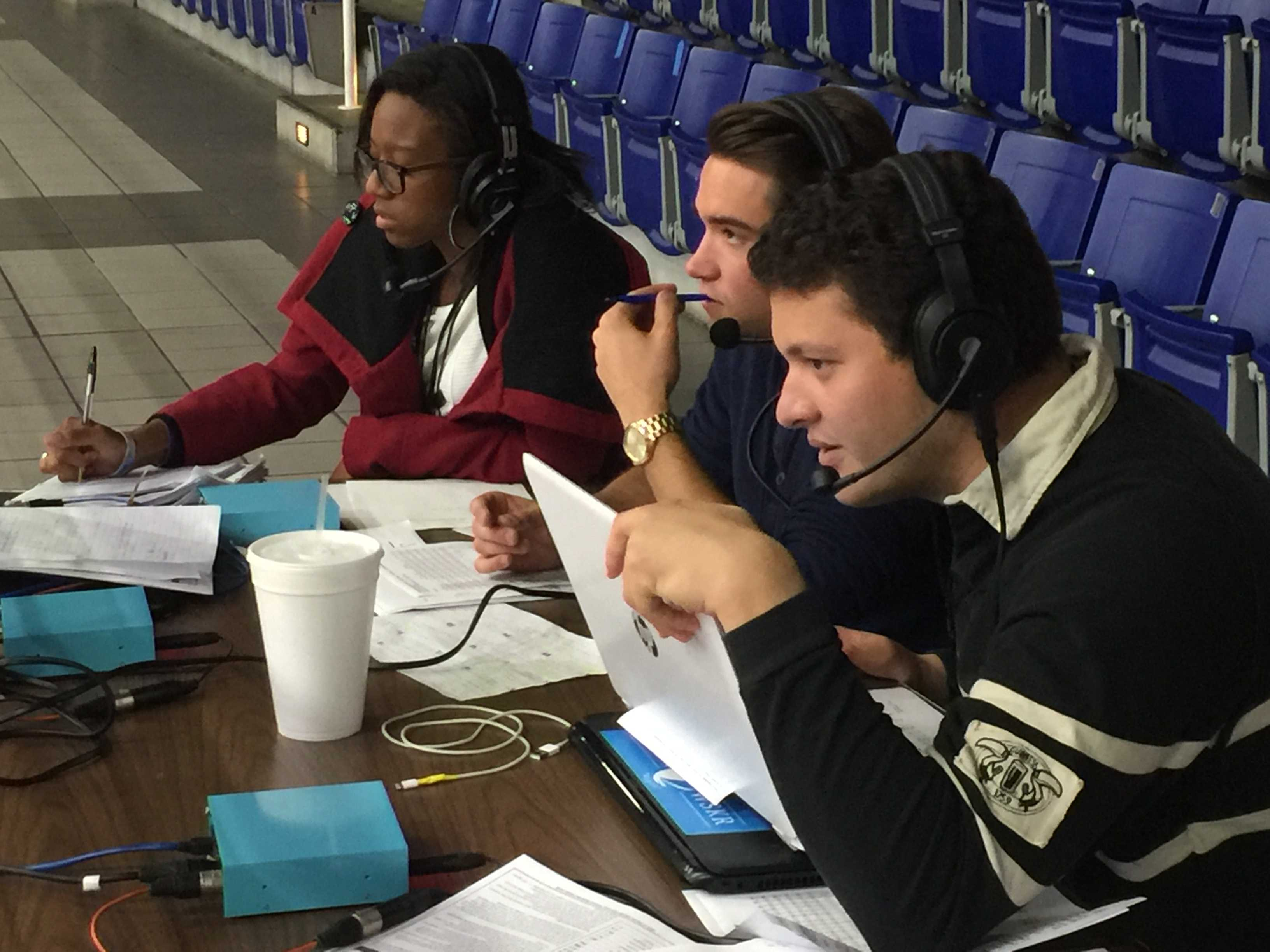 Play by Play: History made in Spinnaker Radio