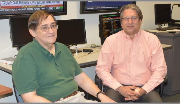 Dr. Bruce Fortado and Dr. Paul Fadil. <i>Photo courtesy of Chambers Williams</i>