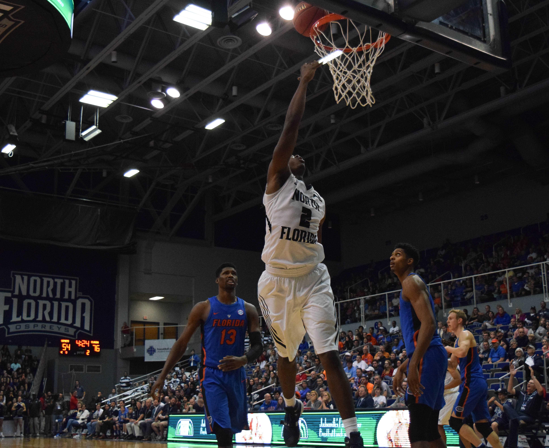 Ospreys fall 91-60 to Gators; Davenport suspended indefinitely