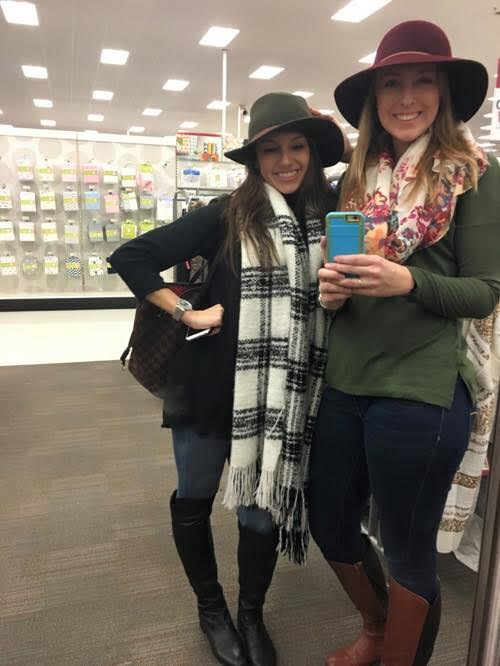 Erdelyi, left, with her friend Chelsey Cain. Photo courtesy Chelsey Cain